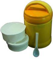 Ланчбокс для еды 1,2 литра с двумя контейнерами